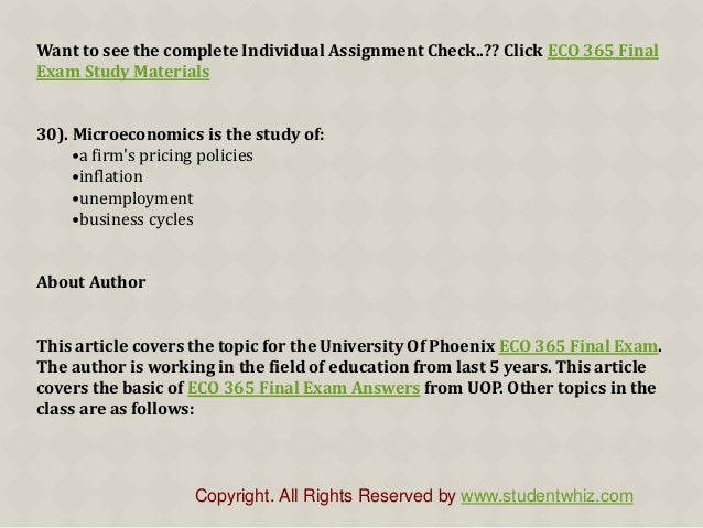 Acc 561 Final Exam Latest Uop Course Assignments