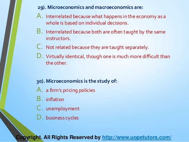 whats microeconomics essay What are the main differences between microeconomics and macroeconomics which was ''whats the difference this essay aims to highlight some of the key.