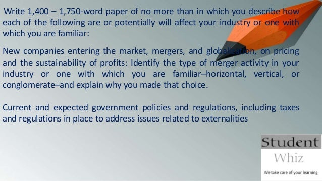 current and expected government policies and regulations including taxes and regulations in place to -the impact of current and expected government policies and regulations, including taxes and regulations in place to address issues related to externalities i am in need of two powerpoint slides focusing on the above bullet for the above company.