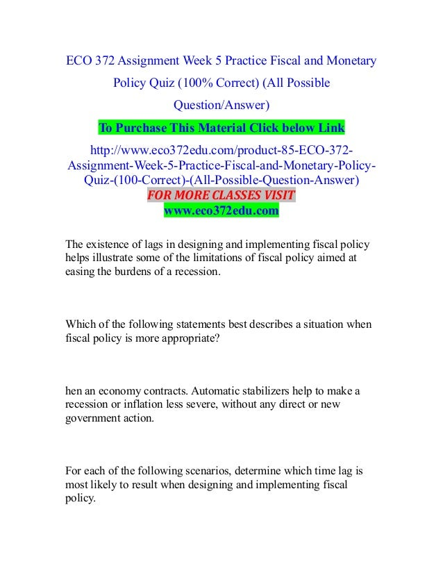monetary policy questions for bank exam
