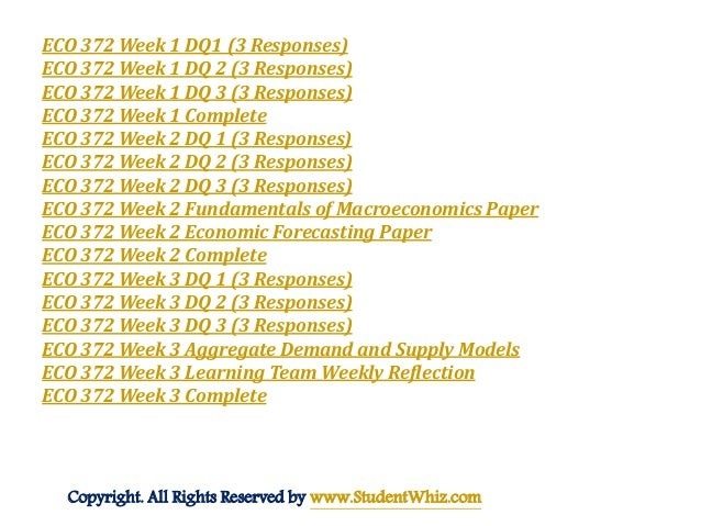 eco 372 economic forecasting paper For more course tutorials visit wwwuophelpcom this tutorial contains 2 different papers develop a list of resources you might use to gather historical economic data.