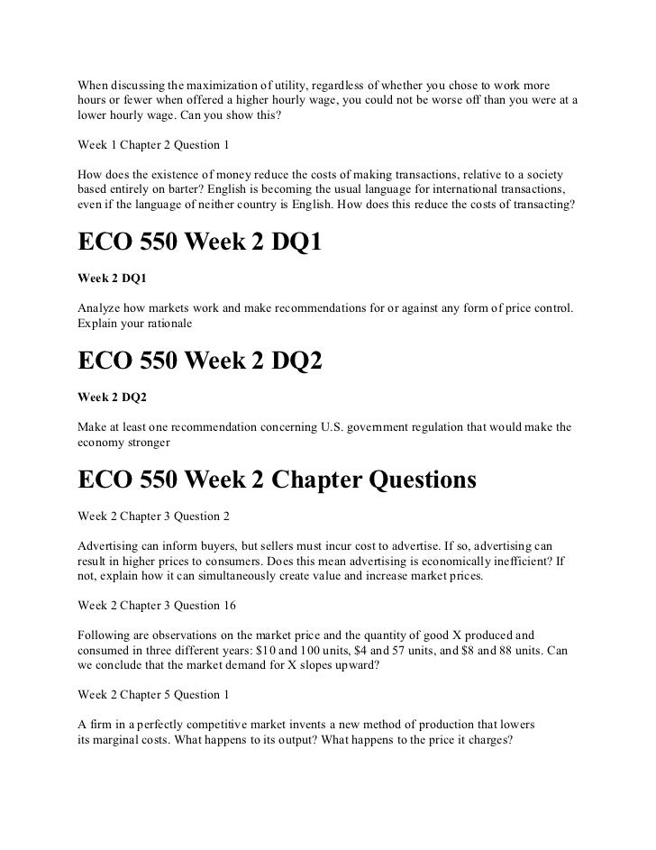 ECO 550 Assignment 2 Operations Decision low-calorie microwavable