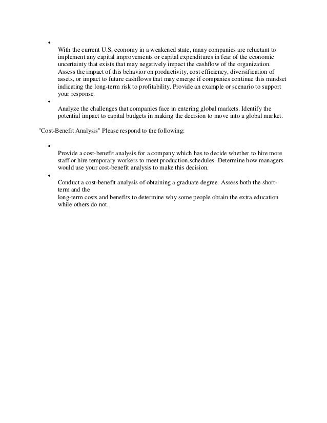 scenario solution essay 62 5 scenario analysis: a tool for task managers jonathan n maack scenario analysis has been used by the private sector for the last 25 years to manage risk and.