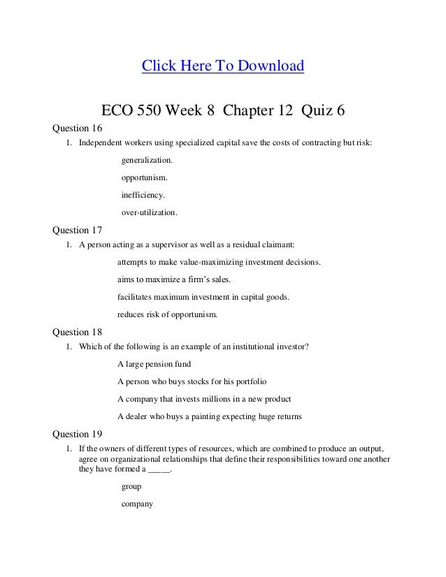 eco 550 week 6 chapter 11 Commodity broker (as defined in 11 usc § 101(6))  filing for bankruptcy  under chapter 11 (official form 201a) with this form  3040 post oak road  suite 550  eco-energy transportation, llc  weeks marine, inc.