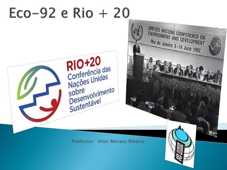 Professor: Vitor Moraes Ribeiro
