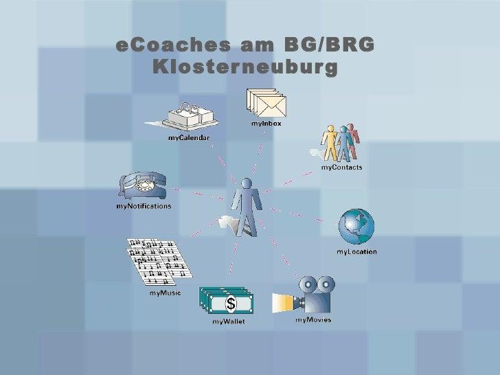 eCoaches am BG/BRG Klosterneuburg