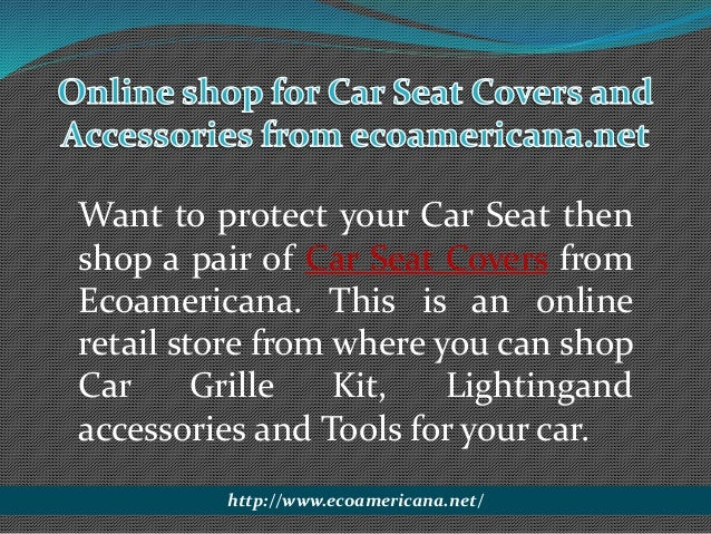 Buy Car Seat Covers And Accessories Online 2