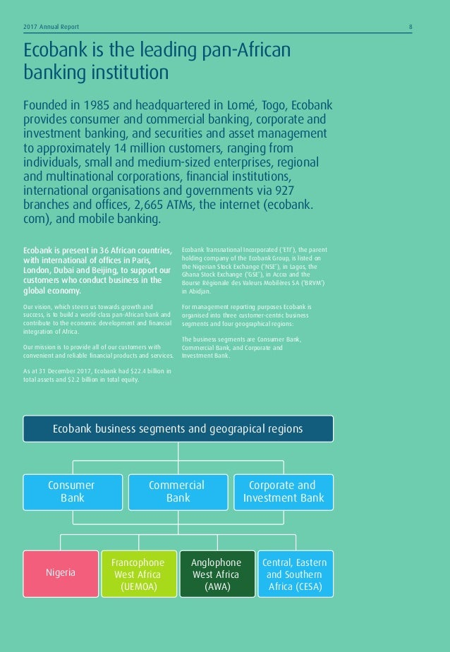 Ecobank annual report 2017