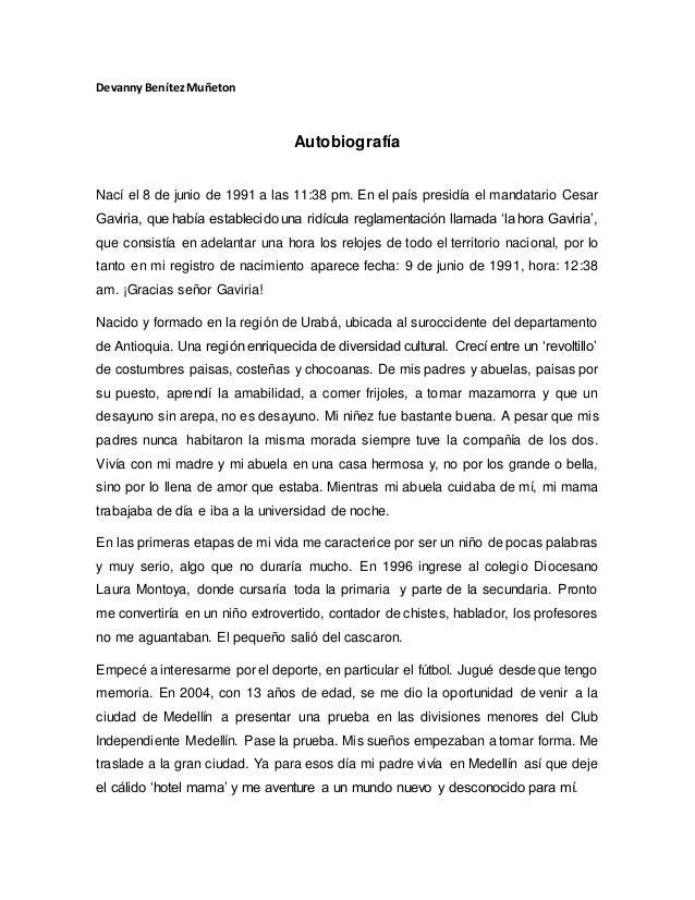 Devanny BenítezMuñeton Autobiografía Nací el 8 de junio de 1991 a las 11:38 pm. En el país presidía el mandatario Cesar Ga...