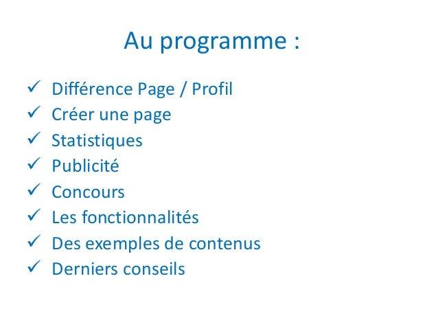 Entreprises, comment communiquer sur Facebook ? Slide 2