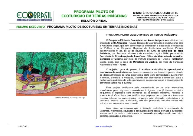 Eco brasil indigena_mma+funai_ecoturismoti_resumo_jun1998 Slide 2