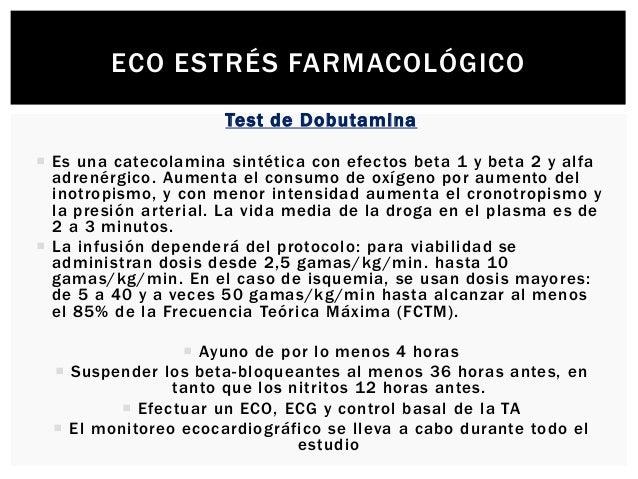 ECO ESTRÉS FARMACOLÓGICO  El objetivo principal es la obser vación de defectos segmentarios durante el examen, ya que la ...