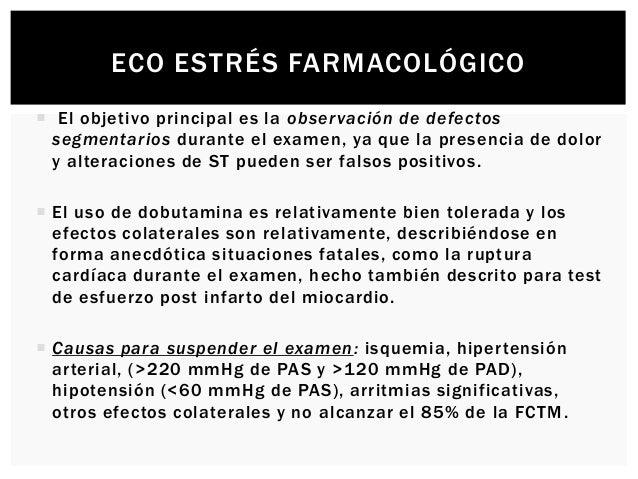 ECO ESTRÉS FARMACOLÓGICO  La atropina incrementa la sensibilidad de los estudios ecocardiográficos con dobutamina en paci...