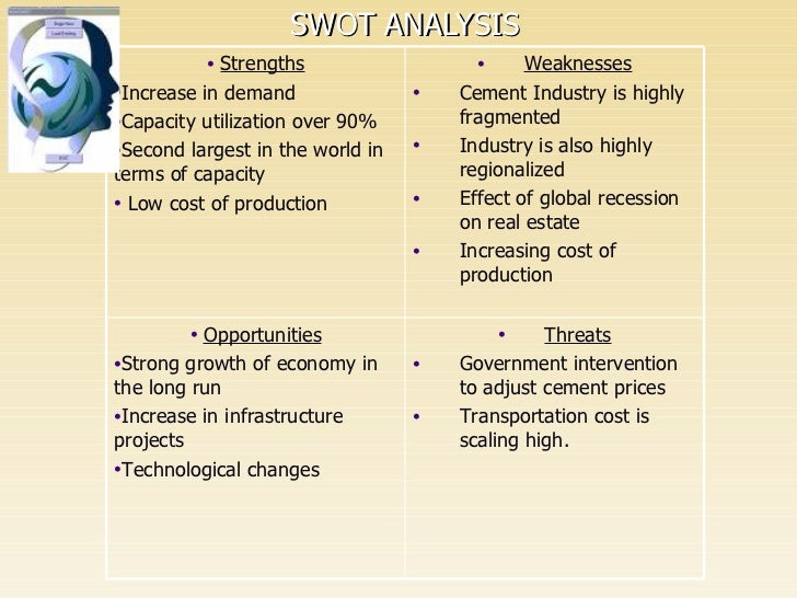 lafarge swot Lafarge pakistan cement limited company profile- outlook, business segments, competitors, goods and services, swot and financial analysis market research report.
