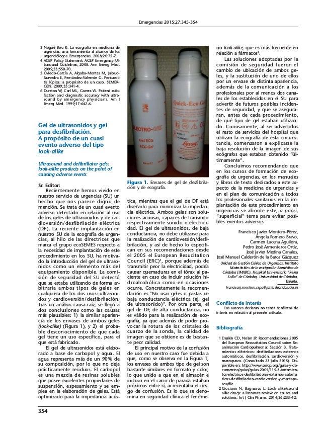 3 Nogué Bou R. La ecografía en medicina de urgencias: una herramienta al alcance de los urgenciólogos. Emergencias. 2008;2...