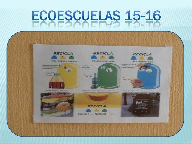 Ecoescuelas 15 16