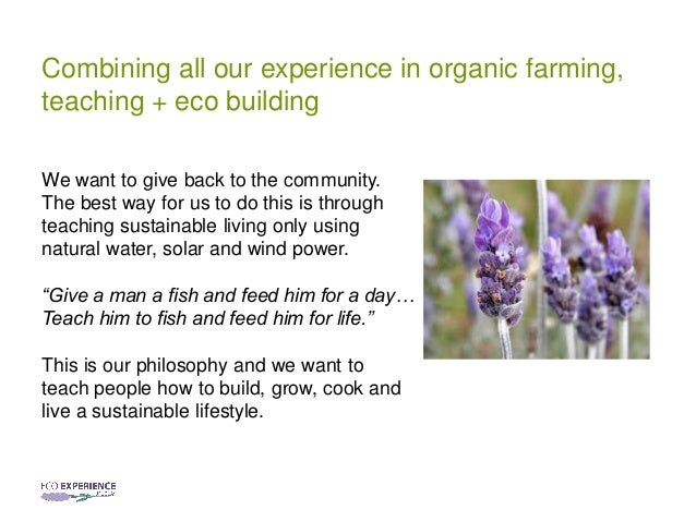 Eco experience uruguay a project on sustainable living for Feed and grow fish free no download
