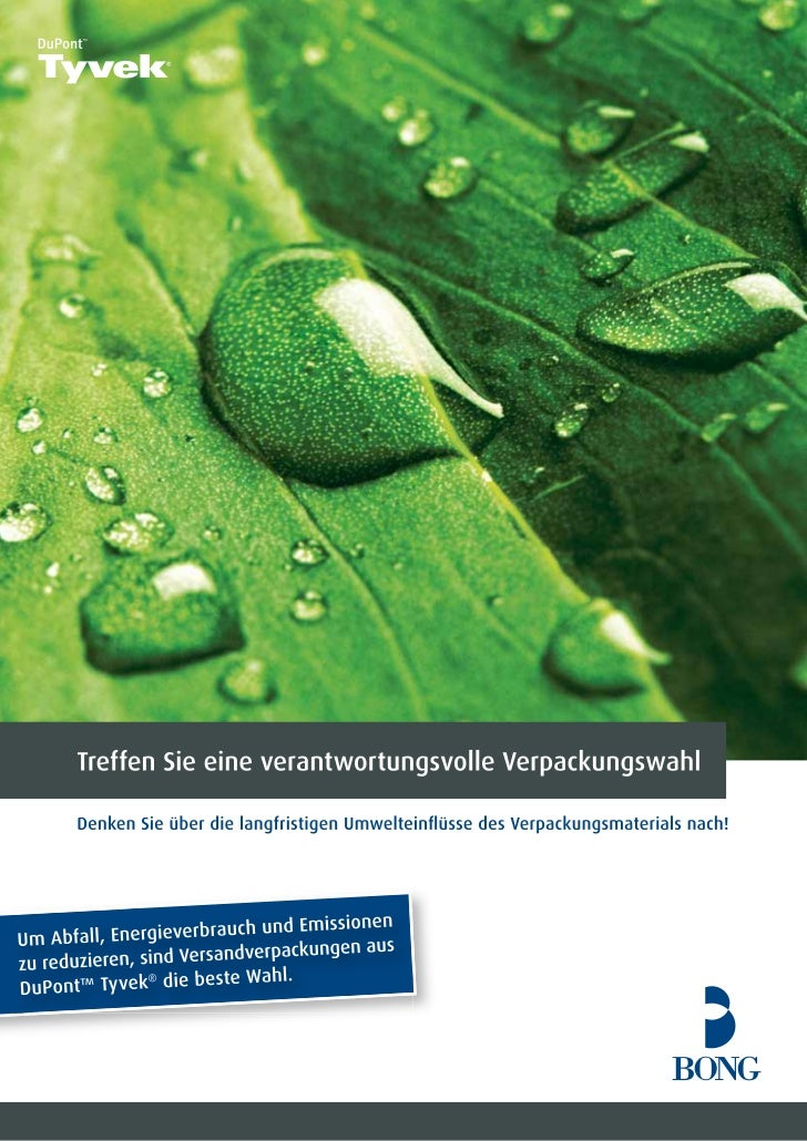 Tyvek - Eco folder