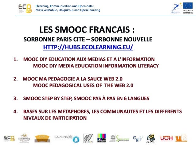 MOOC DIY EDUCATION AUX MEDIAS ET A L'INFORMATION Le personnage du MOOC : EOL Les communautés : CLEMI – MASTER AIGEME Trois...