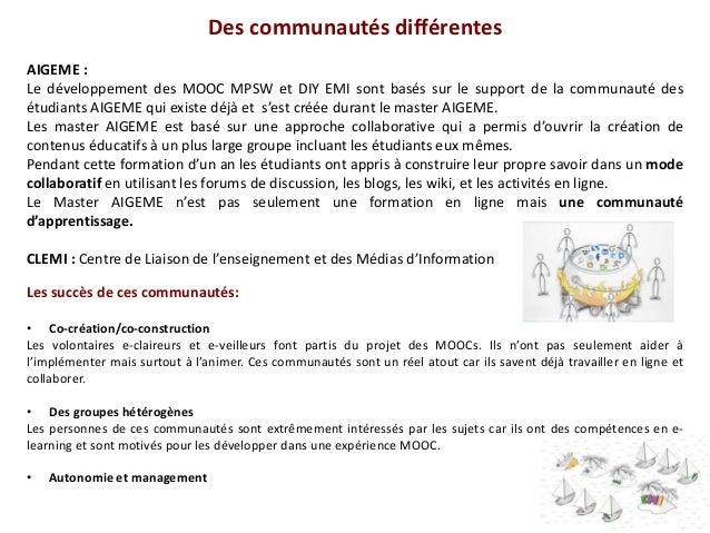 Le projet ECO et les MOOCs français du projet