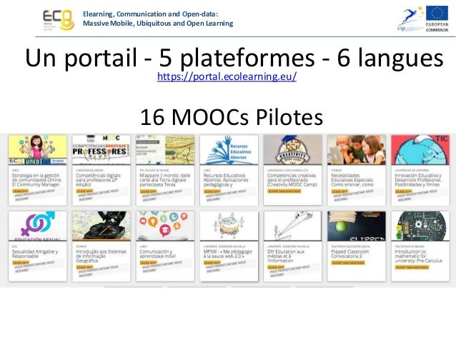 Elearning, Communication and Open-data: Massive Mobile, Ubiquitous and Open Learning Un MOOC Transversal http://hub0.ecole...