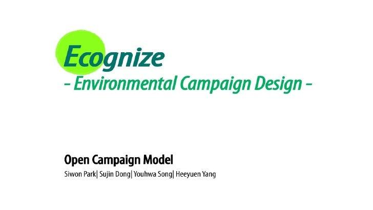 1. Background Ecognize