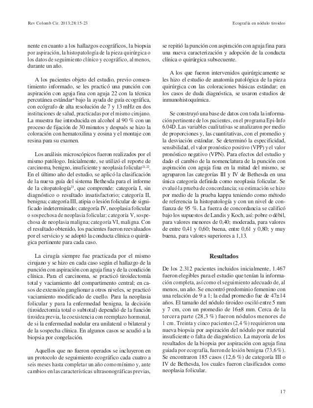 Ecografia en nodulo tiroideo 15 23