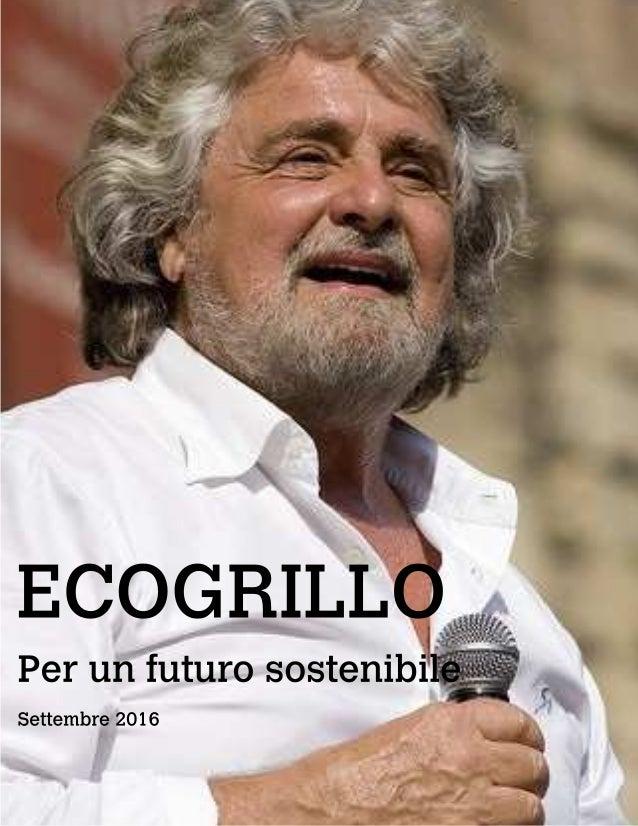 ECOGRILLO Perunfuturosostenibile Settembre2016