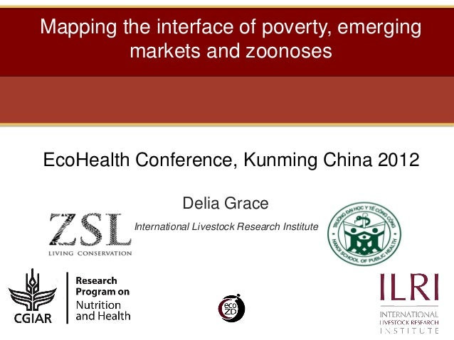 Mapping the interface of poverty, emerging         markets and zoonosesEcoHealth Conference, Kunming China 2012           ...