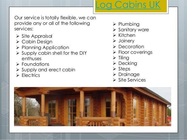Log Cabins UK Slide 2