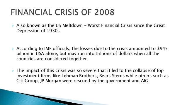 Credit Crisis: Conclusion
