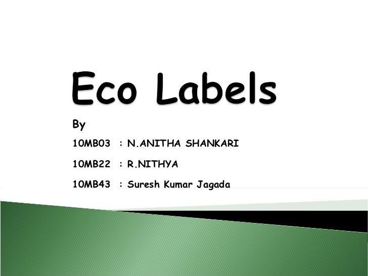 By10MB03 : N.ANITHA SHANKARI10MB22 : R.NITHYA10MB43 : Suresh Kumar Jagada