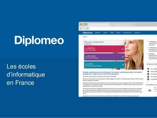 Les écoles d'informatique en France