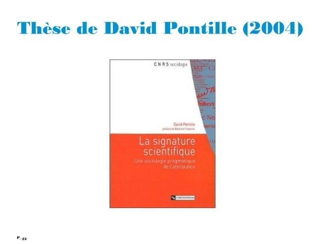 23P_ Thèse de David Pontille (2004)