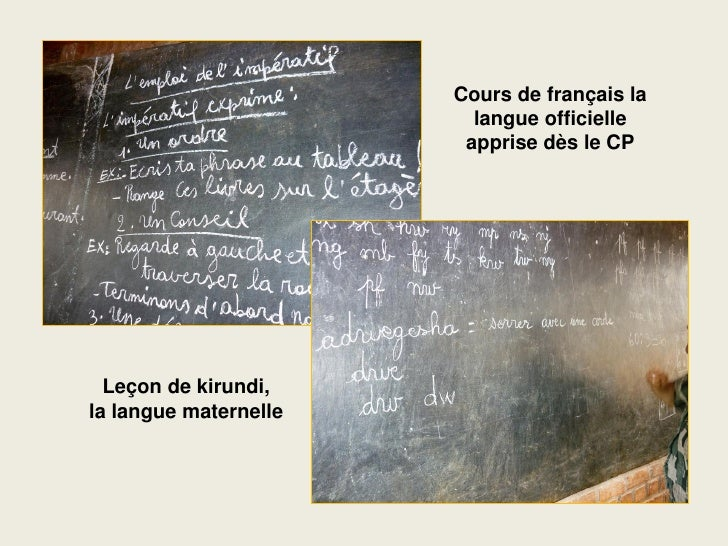 Cours de français la                          langue officielle                         apprise dès le CP       Leçon de k...