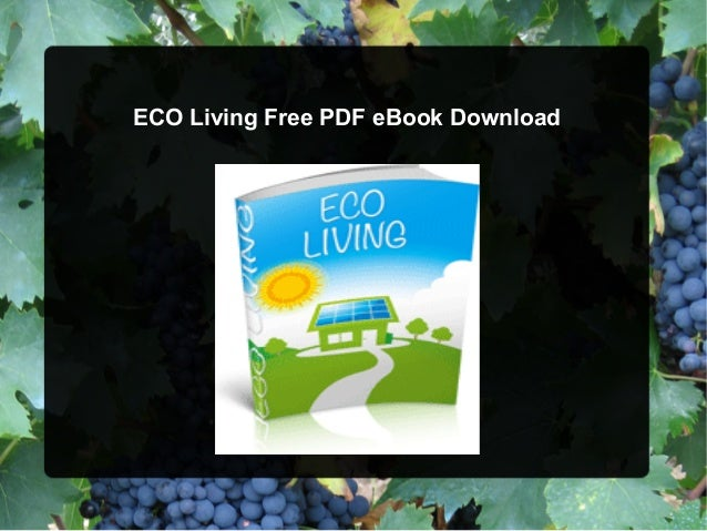 ECO Living Free PDF eBook Download