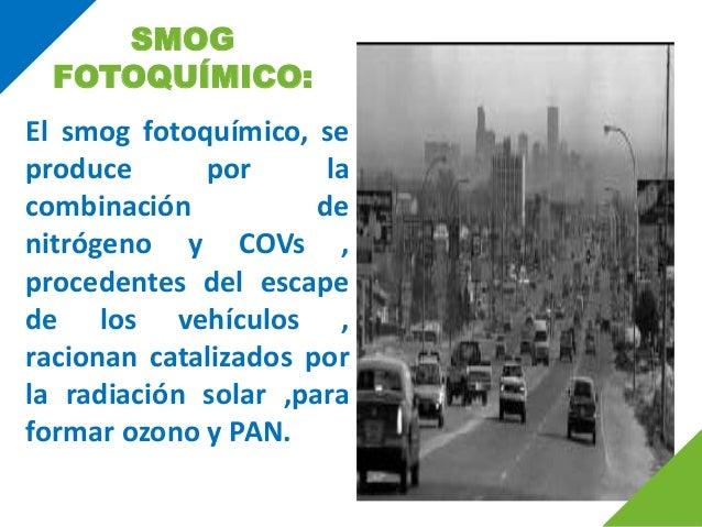 Smog fotoquimico efectos en el medio ambiente 81