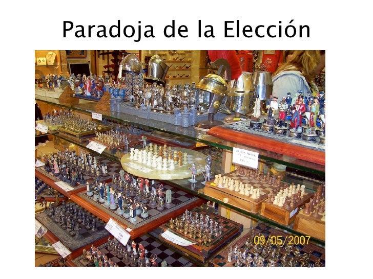 Paradoja de la Elección                           29