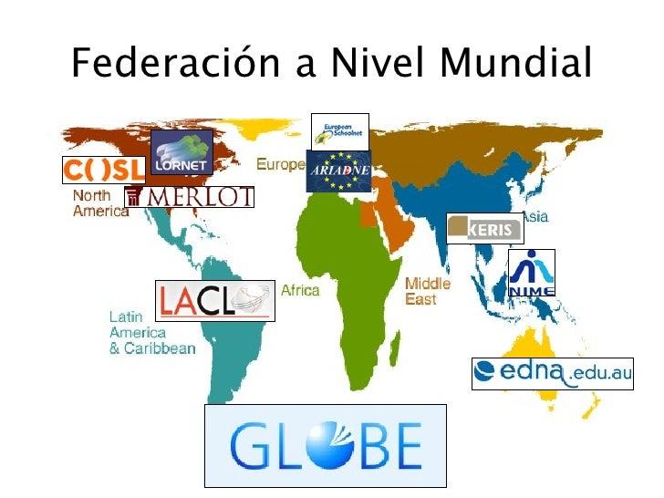 Federación a Nivel Mundial