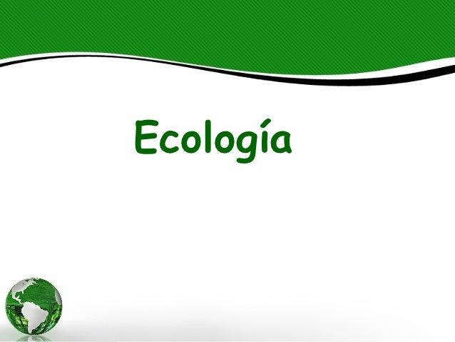 Ecología