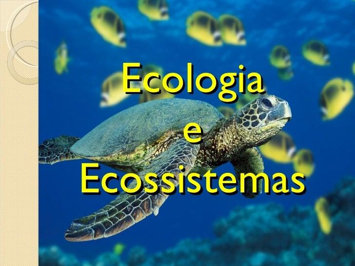 Ecologia e Ecossistemas