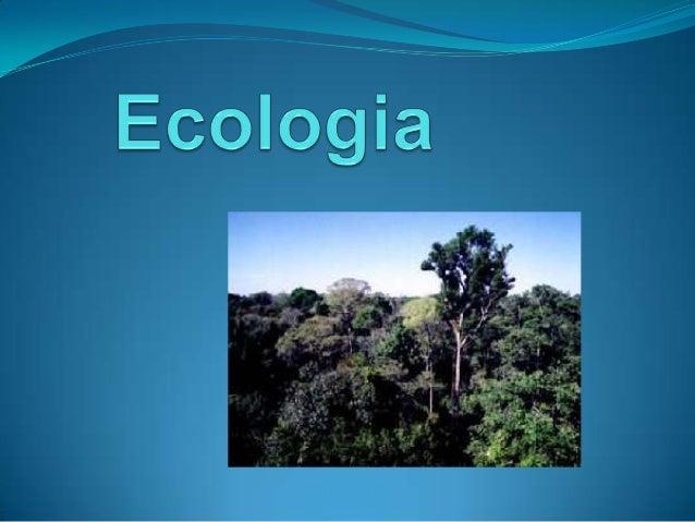 Ecologia é a ciência que estuda as relações dos seres vivos entre si e com o ambiente.  Conhecer o conceito de ecologia c...