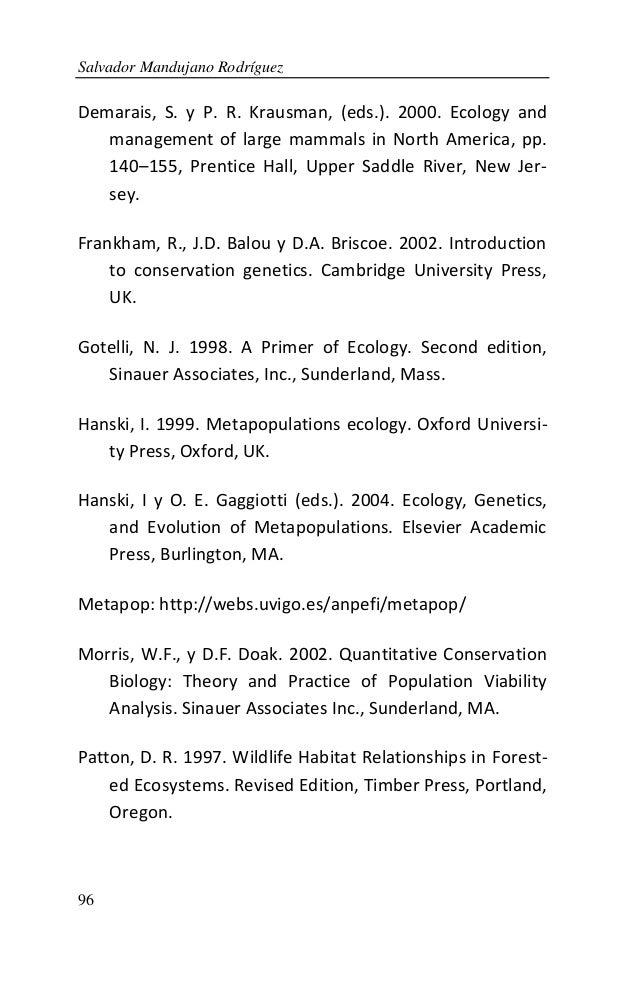 a primer of conservation biology primack pdf