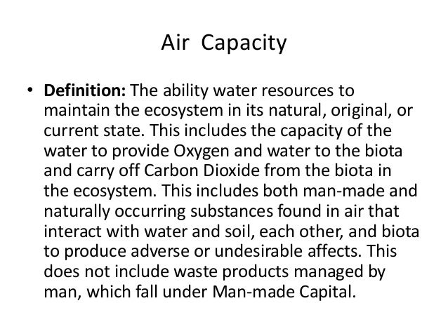 state capacity definition