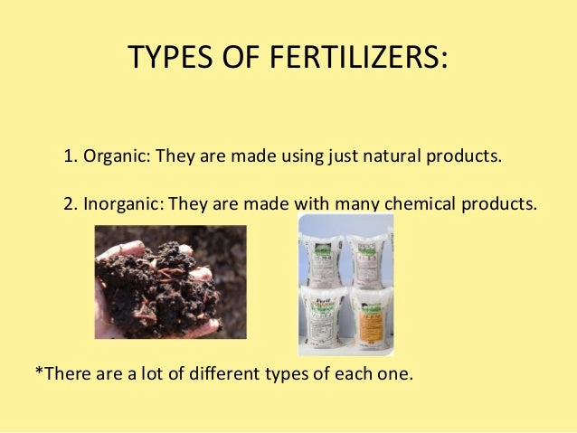 Ecological fertilizers