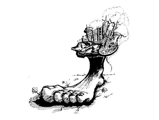 Ecological Footprint Cartoons