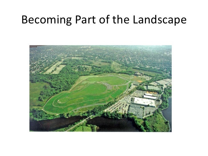 Becoming Part of the Landscape<br />