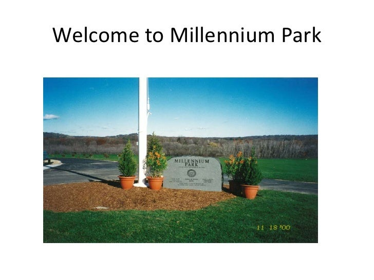 Welcome to Millennium Park<br />