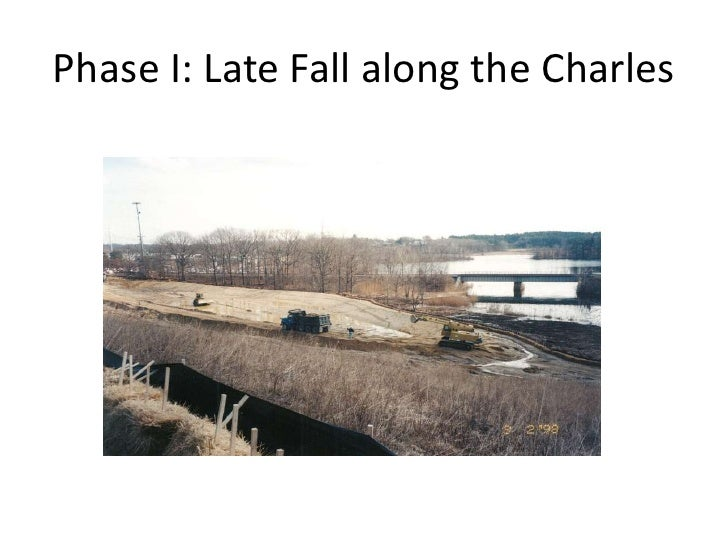 Phase I: Late Fall along the Charles<br />