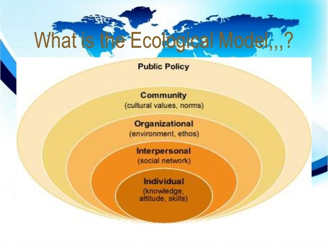 what is the social ecological model Understanding the psychology of bullying moving toward a social-ecological diathesis–stress model susan m swearer university of nebraska–lincoln and.